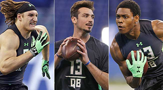 Prisco's final mock: After QBs, Tunsil, it's wild