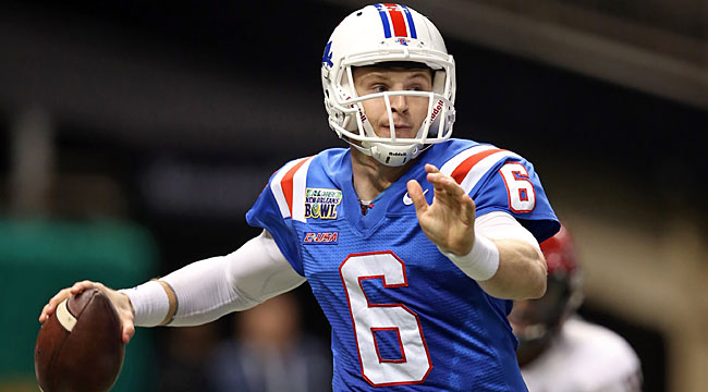 Grades: Mixed bag for Driskel, other Day 3 QBs