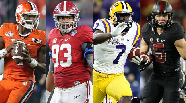 NFL Draft: Best of 2017