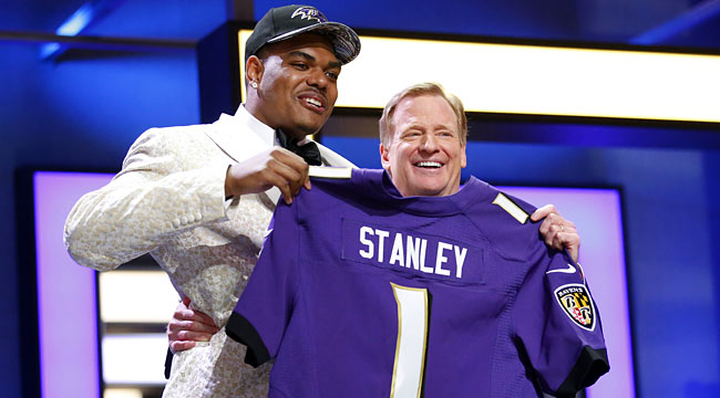 Ravens exec on draft process