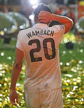 The event over, Abby Wambach and the U.S. women's team will fade into the background once again. (AP)
