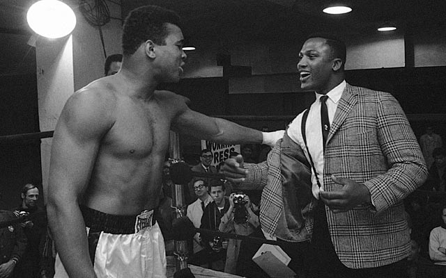 Ali and Frazier (right): Different boxers, divergent personalities, unquestioned contemporaries. (AP)