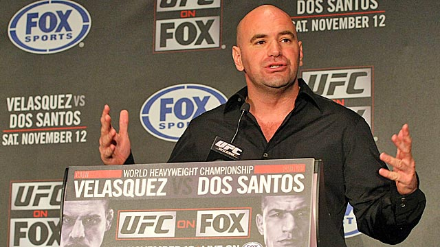 UFC President Dana White is used to strong-arming his foes, but can he beat the feds? (Getty Images)