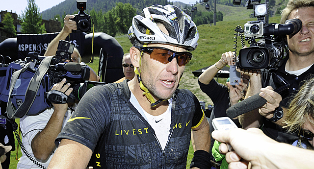 Armstrong says the doping scandal will not impact his charitable work. (Getty Images)