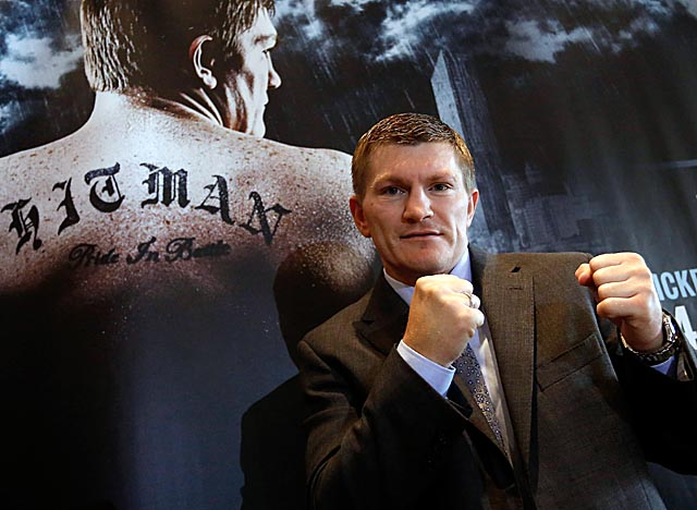 Hatton was reportedly struck by his father in a parking lot before announcing his comeback. (Getty Images)