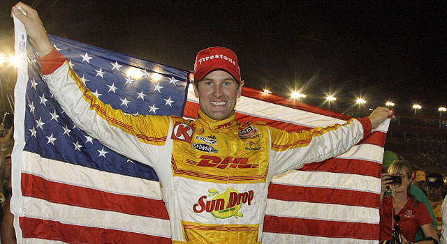 IndyCar champ Ryan Hunter-Reay: 'I cannot believe this. My dream has come true.' (AP)