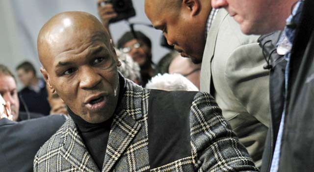 Mike Tyson says his facial tattoo was inspired by the Maori people of New Zealand. (US Presswire)