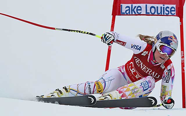 Nine of Vonn's  26 World Cup wins have come on the Lake Louise track. (Getty Images)