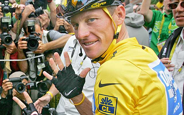 Armstrong has been formally stripped of the seven Tour de France titles he won. (AP)