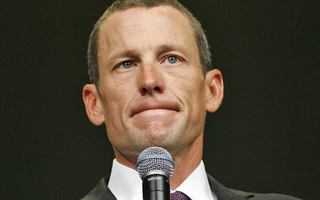 Lance Armstrong is banned for life from cycling and has given up control of his Livestrong foundation. (AP)