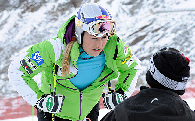 Vonn's hospitalization has forced for her to cancel an upcoming promotional event. (AP)