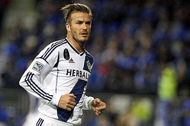 After six years in Los Angeles, Beckham says the MLS Cup will be his final game with the Galaxy. (US Presswire)