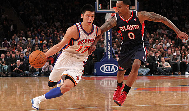 For a while, there was nothing bigger than Jeremy Lin ... anywhere, it seemed. (US Presswire)