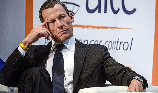 Armstrong can only sit and watch his accomplishments be washed away. (Getty Images)