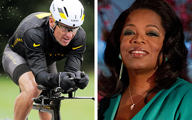 Armstrong is set to confess in an interview with Oprah next week. (AP)
