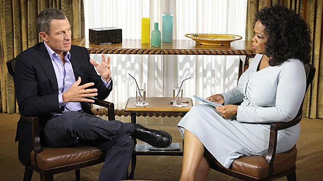 Lance Armstrong confesses to Oprah Winfrey: 'I made my decisions. They are my mistake.' (Getty Images)