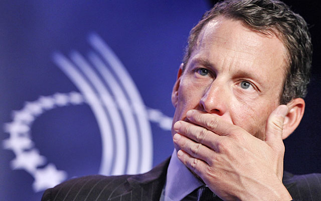 Lance Armstrong won't cooperate with the USADA in its investigation into cycling dopers. (AP)