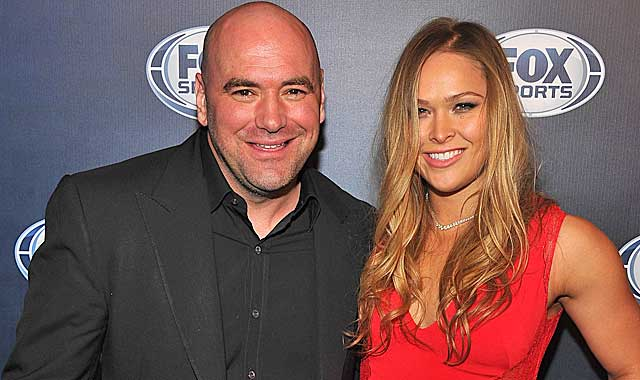 Dana White has a new UFC star in Ronda Rousey and a new TV deal with Fox Sports. (Getty Images)
