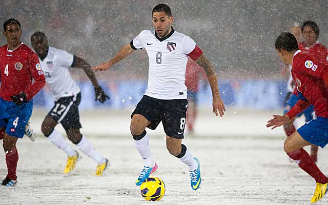 Clint Dempsey scored in the early going to lead the United States past Costa Rica, 1-0. (Getty Images)