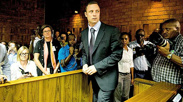 Pistorius is facing a life sentence if found guilty of murder. (Getty Images)