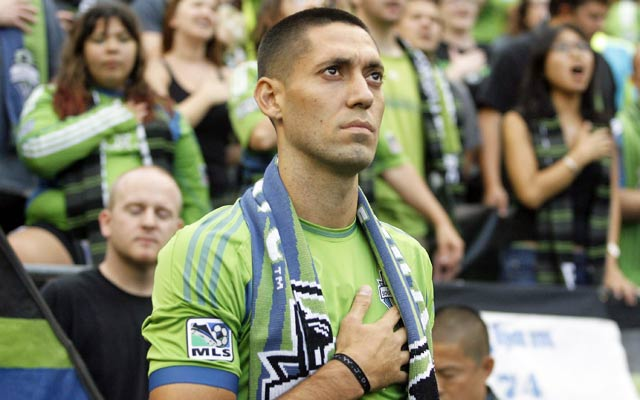 Clint Dempsey is returning to the US to play for the Seattle Sounders. (USATSI)