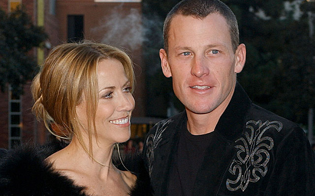 Lance Armstrong and former girlfriend Sheryl Crow in 2005. (Getty Images)