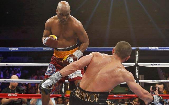 Bernard Hopkins, 49, faces Beibut Shumenov in a title unification bout. (USATSI)