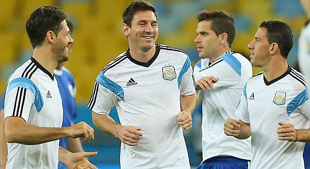 Lionel Messi's and Argentina are carrying the hopes of a country into the World Cup. (Getty Images)