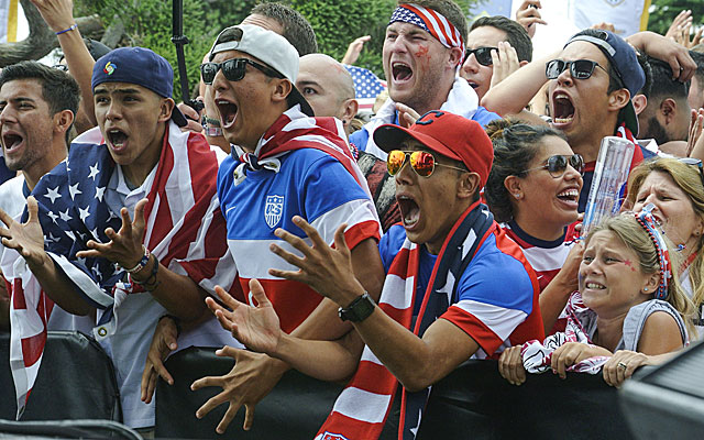 We really, really cared about this World Cup -- refreshing to see. (USATSI)