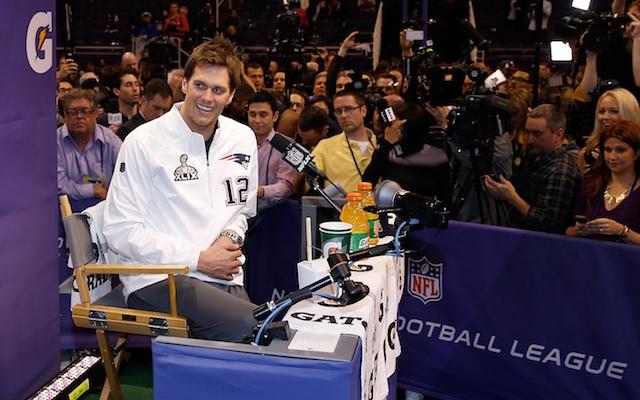 size 40 82be8 6d8af Super Bowl Media Day: Tom Brady lists Derek Jeter as a ...