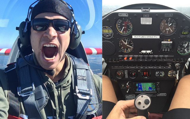 Jimmy graham likes to flip planes for fun instagram