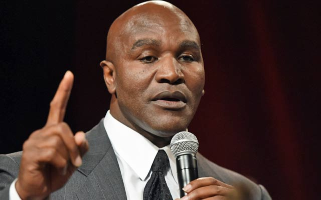 Holyfield Hagler Latest To Weigh In On Mayweather
