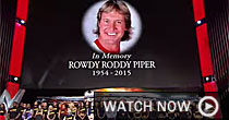 Roddy Piper, WWE (Provided)