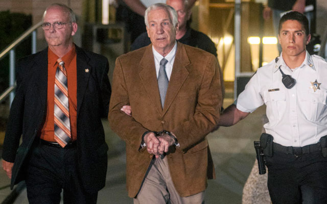 Former Penn State assistant Jerry Sandusky will have an appeal heard later this month. (USATSI)