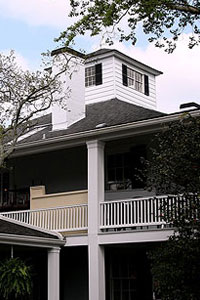 The Crow's Nest, living quarters for the tournament's amateurs, can house up to five golfers. (Getty Images)