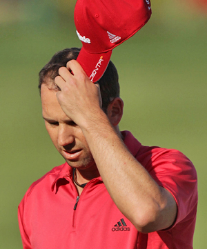 A long period of uninspired play has dropped Sergio Garcia to No. 85 in the world. (Getty Images)