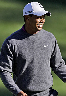 A victory at Augusta would zoom Tiger Woods back to the forefront of the golf world. (AP)