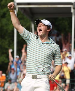Rory McIlroy -- back in the States since his Masters meltdown -- won his first PGA Tour championship in Charlotte last season. (Getty Images)