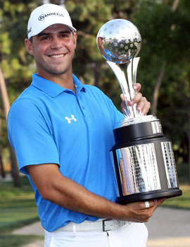 Gary Woodland was ranked 153rd when he won the Transitions Championship. (Getty Images)