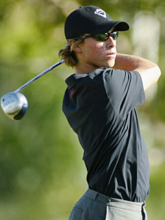 Ty Tryon was the youngest to earn a PGA Tour card at 17. (Getty Images)