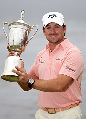 Graeme McDowell's triumph at the 2010 U.S. Open was one of five major victories by Irishmen in the past 16 Grand Slams. (Getty Images)