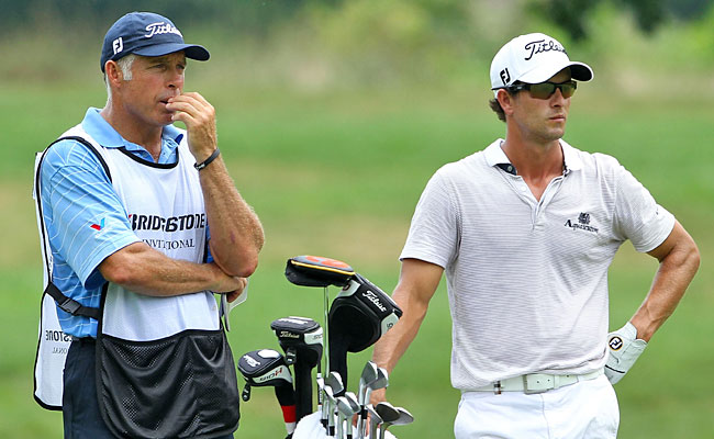 Steve Williams instills confidence in his new player, and Adam Scott is responding. (Getty Images)