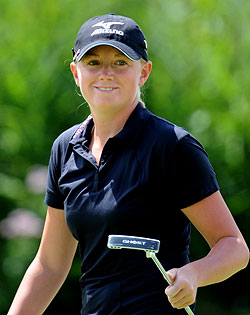 Stacy Lewis is just one of two Americans on the Solheim Cup team who have won this year. (Getty Images)