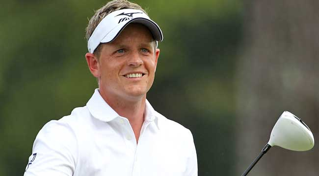 Luke Donald says he'll never be confused with Tiger Woods, but 'I've got my own kind of agenda.' (Getty Images)