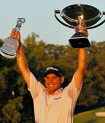 It's silverware, crystal and a lot of money for Bill Haas this weekend in Atlanta. (Getty Images)