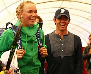 Will Caroline Wozniacki become Rory McIlroy's Yoko Ono? (Getty Images)