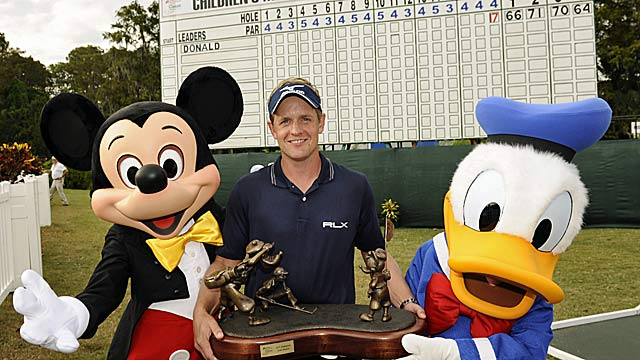 Luke Donald did his part with a great Disney win, but then Mickey Mouse stuff happened. (Getty Images)