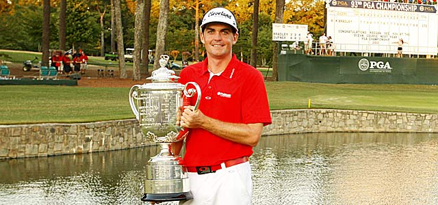 Keegan Bradley won the PGA Championship as one of 124 players ranked in the top 200. (US Presswire)