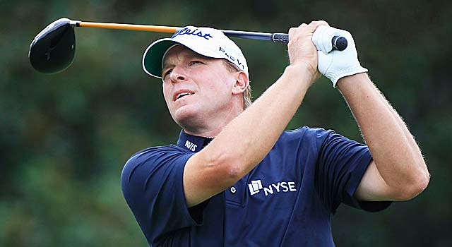 American Steve Stricker is in the top 10 but his readiness for Melbourne is in question. (Getty Images)
