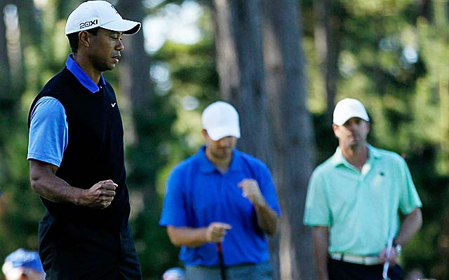 Tiger Woods on shooting 68: 'I don't know if it's a good sign or a bad sign.' (Getty Images)